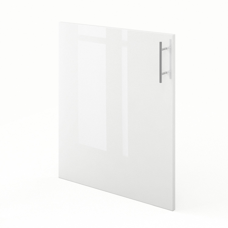 Porte de cuisine blanc f60 rio l60 x h70 cm leroy merlin for Porte de cuisine leroy merlin