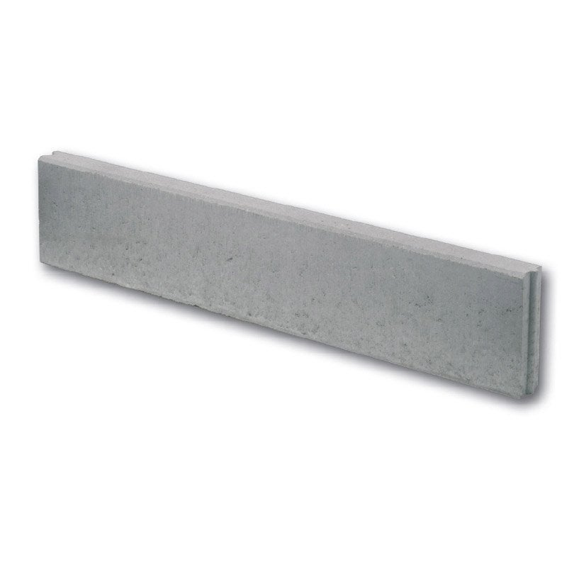 Bordure droite b ton gris x cm leroy merlin for Bordure jardin leroy merlin