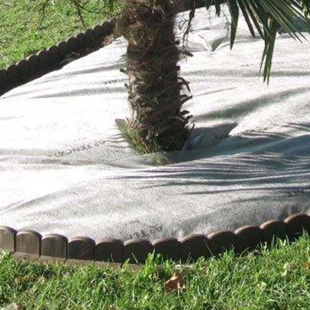 Bordure courbe courbe interieure plastique marron h x l cm lero - Bordure allee leroy merlin ...