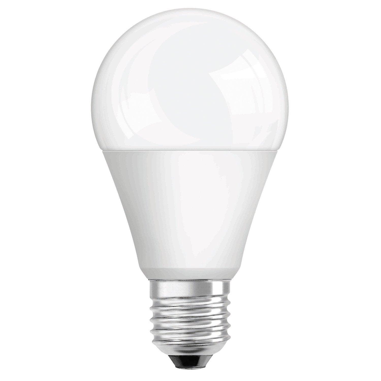 ampoule standard led 13w 1522lm quiv 100w e27 2700k osram leroy merlin. Black Bedroom Furniture Sets. Home Design Ideas