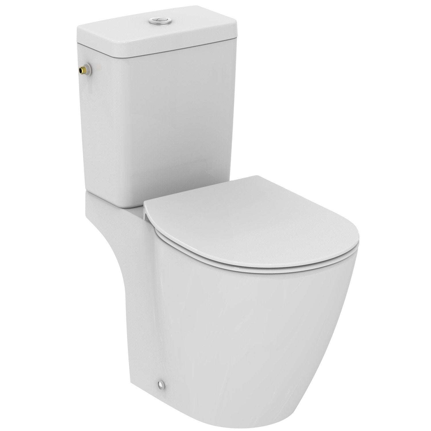 Pack wc poser sortie horizontale ideal standard for Wc gain de place villeroy et boch