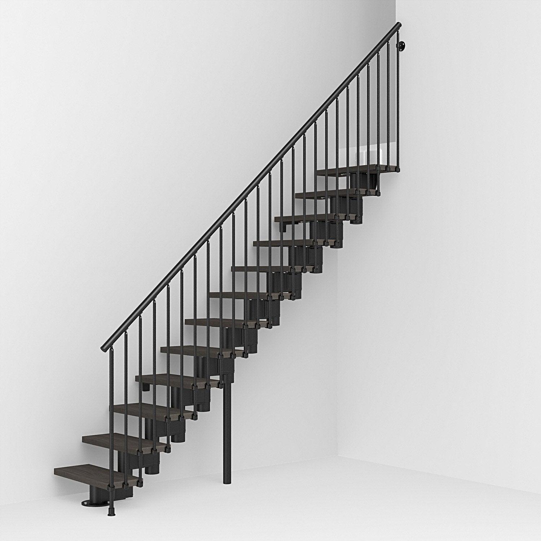 escalier modulaire long leroy merlin. Black Bedroom Furniture Sets. Home Design Ideas