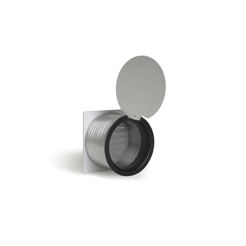 kit d 39 entr e d 39 air frais pour po le bois equation mm leroy merlin. Black Bedroom Furniture Sets. Home Design Ideas