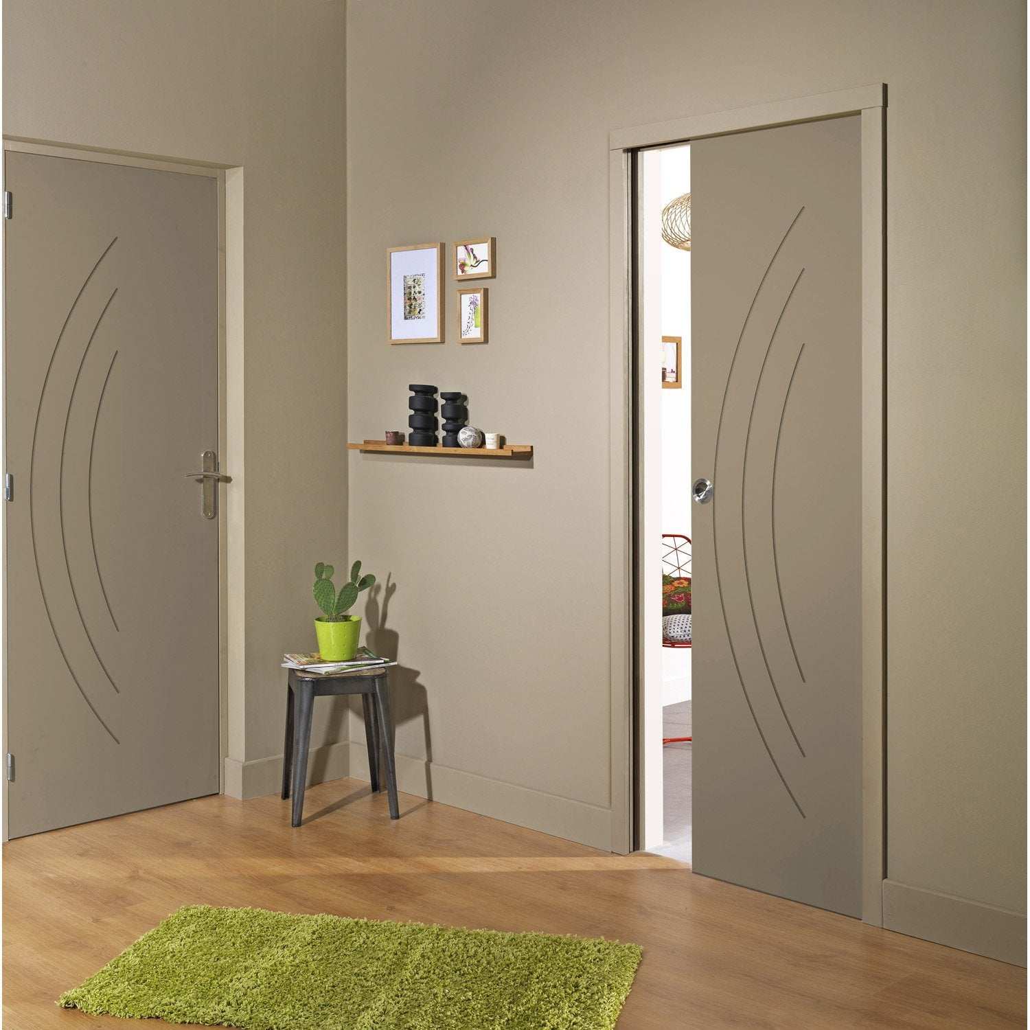 Porte interieur leroy merlin for Porte coulissante interieur leroy merlin