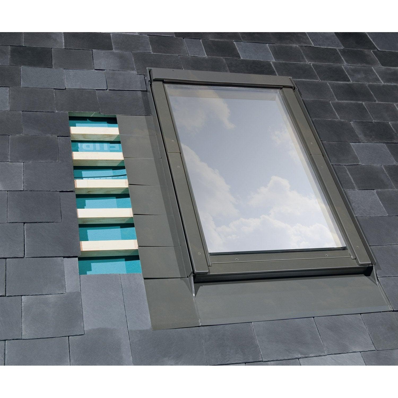 raccord pour fen tre de toit artens el gris leroy merlin. Black Bedroom Furniture Sets. Home Design Ideas