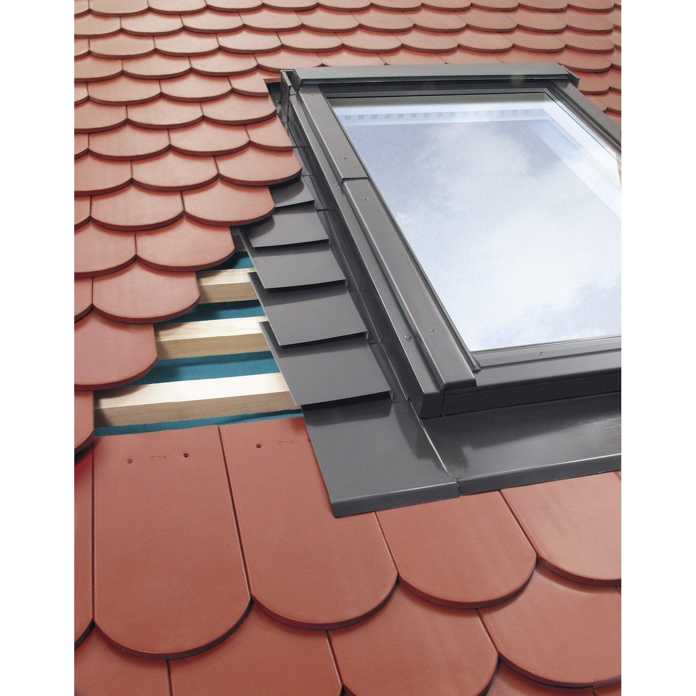 Populaire Raccord pour fenêtre de toit ARTENS Egv, gris | Leroy Merlin WV38