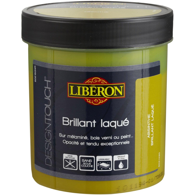 Peinture effet design touch liberon absynthe 0 5 l leroy merlin - Peinture liberon leroy merlin ...