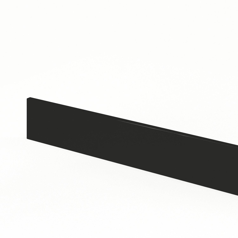 Plinthe de cuisine noir rio l 270 x h 14 9 cm leroy merlin - Ouverture leroy merlin 14 juillet ...