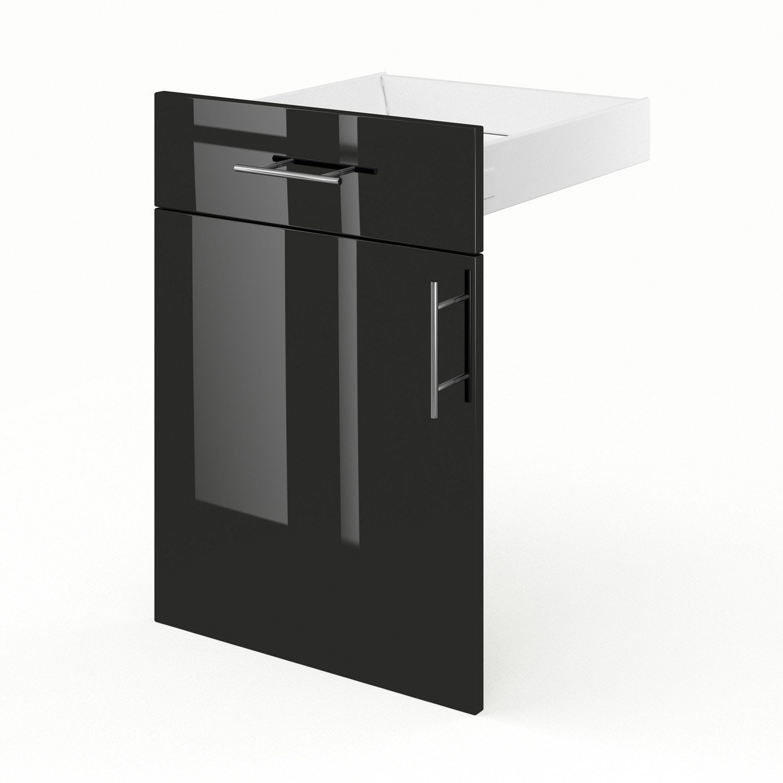 Porte tiroir de meuble de cuisine fd50 delinia rio - Porte meuble cuisine leroy merlin ...