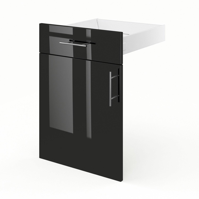 Porte tiroir de meuble de cuisine fd50 delinia rio for Tiroir cuisine leroy merlin