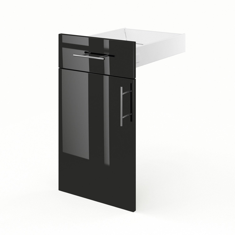 Porte tiroir de meuble de cuisine fd40 delinia rio for Tiroir meuble cuisine