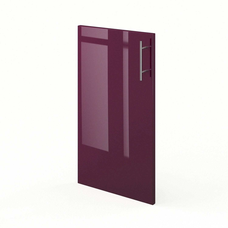 Porte de cuisine violet f40 rio l40 x h70 cm leroy merlin - Leroy merlin porte cuisine ...