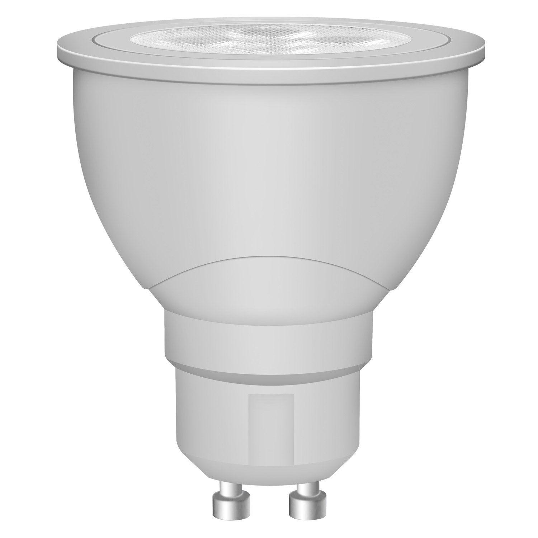 ampoule r flecteur led 5w 230 lm quiv 50w gu10 4000k. Black Bedroom Furniture Sets. Home Design Ideas