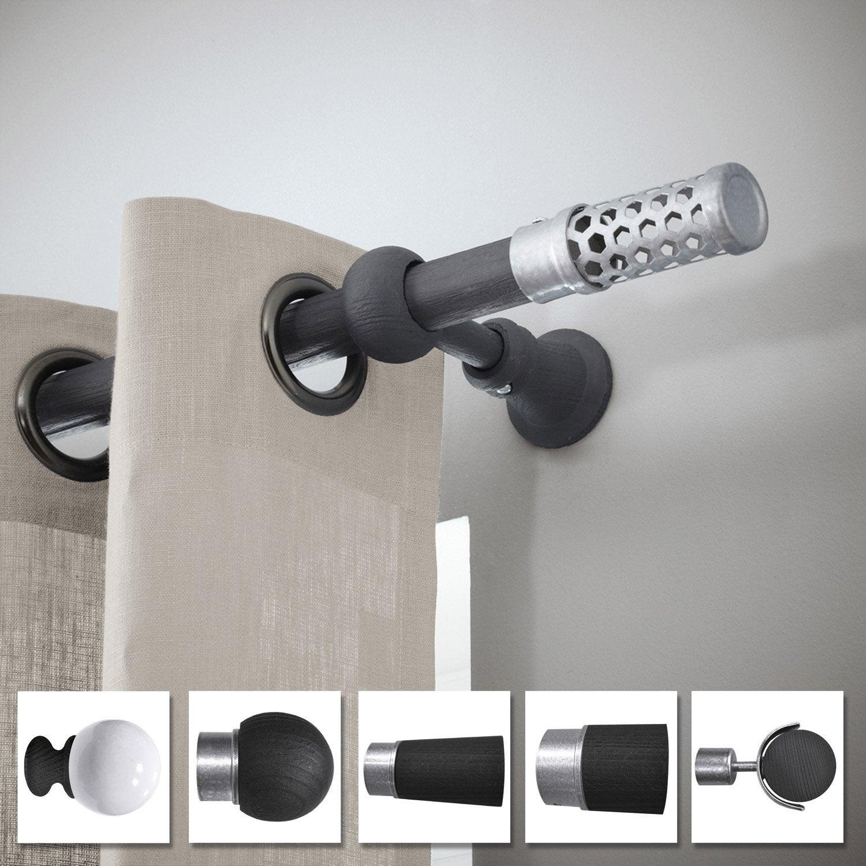 Support tringle rideau 28 mm inspire leroy merlin - Leroy merlin tringle rideau ...