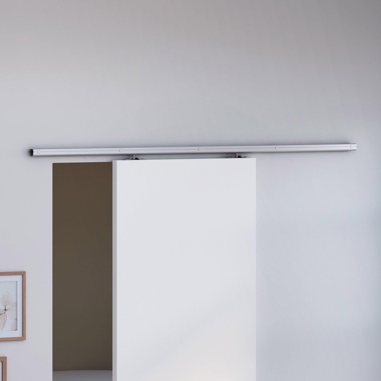 rail porte coulissante suspendue leroy merlin best agrable pose rail porte coulissante pin. Black Bedroom Furniture Sets. Home Design Ideas