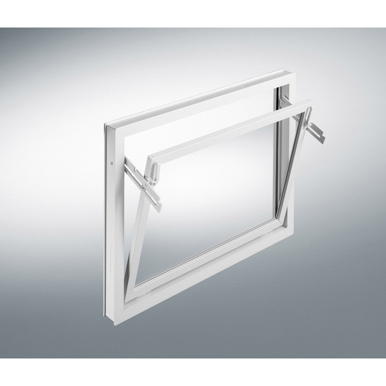 fen tre pvc 1 vantail h39xl59 cm leroy merlin. Black Bedroom Furniture Sets. Home Design Ideas