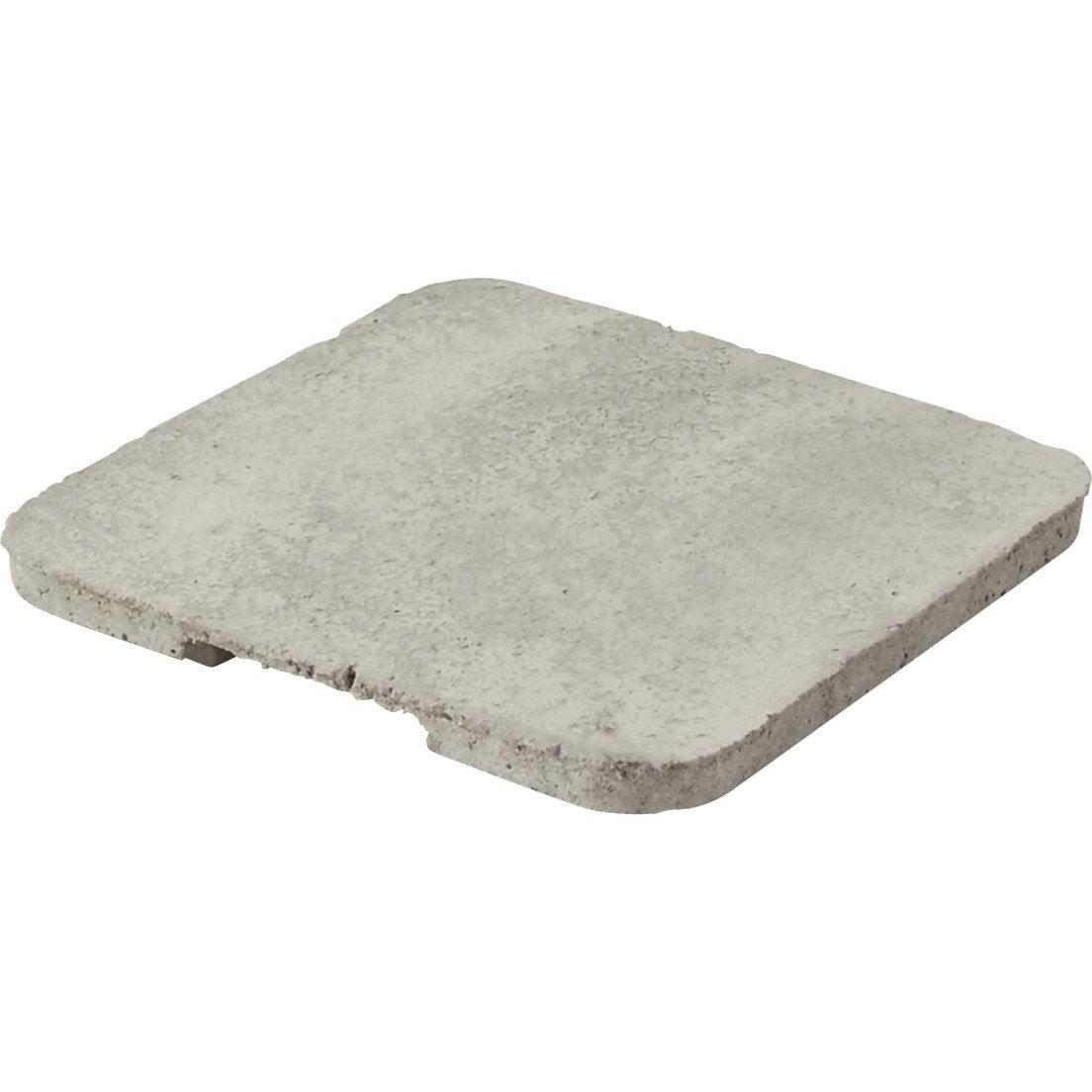 couvercle avec embo tement b ton gris legouez x cm leroy merlin. Black Bedroom Furniture Sets. Home Design Ideas
