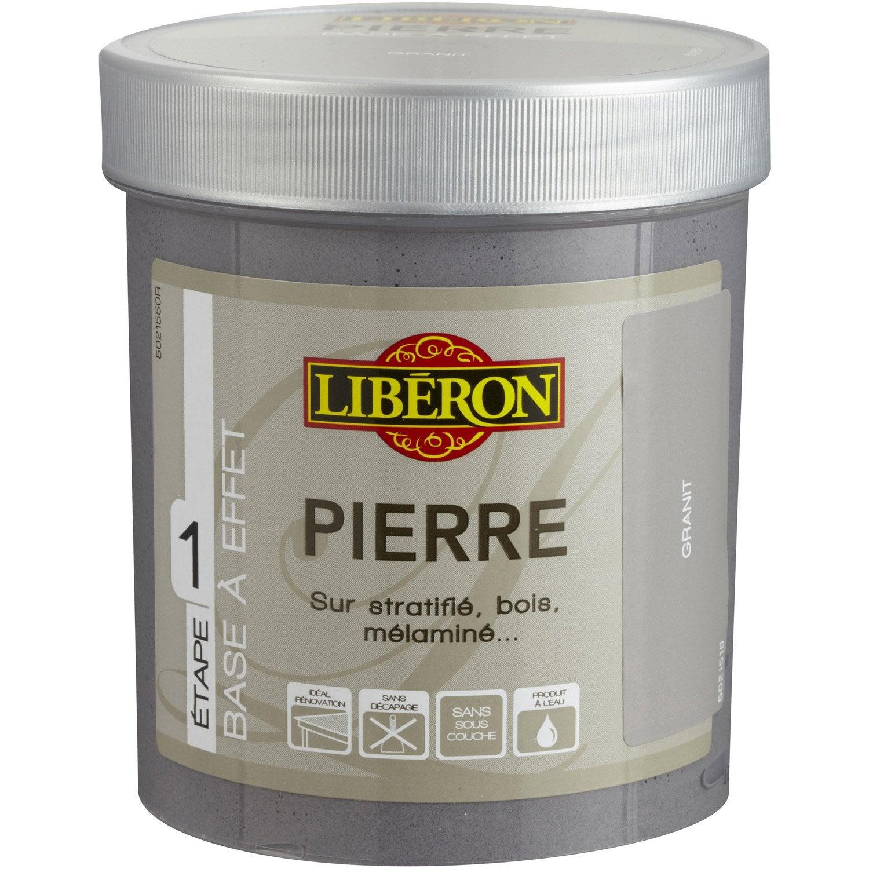Peinture a effet effet pierre liberon granit 0 125 - Peinture effet vieilli leroy merlin ...