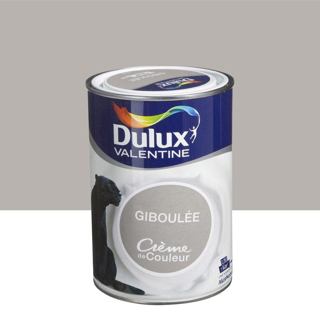 Peinture brun giboul e dulux valentine cr me de couleur 1 - Peinture marron glace ...