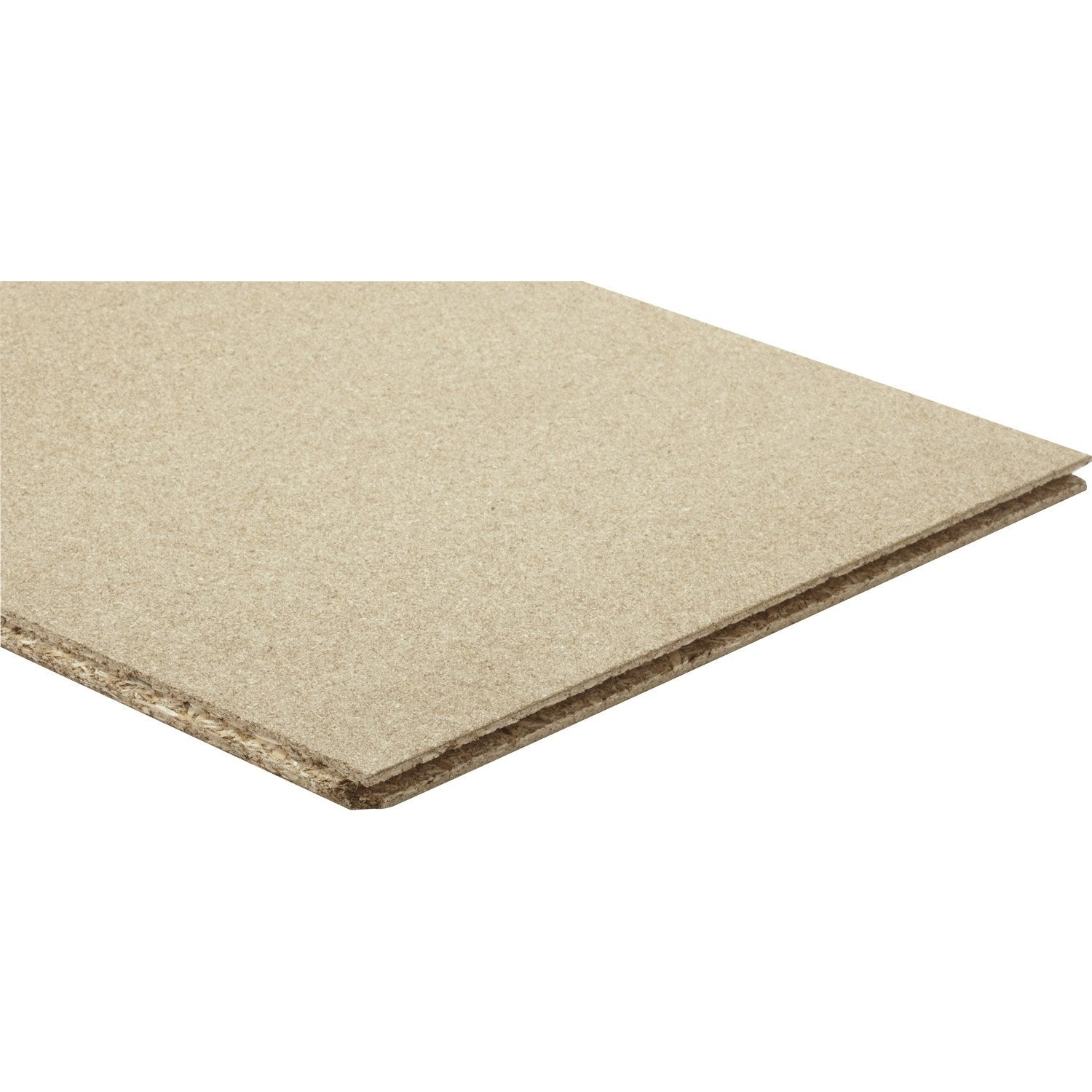 Dalle d 39 agencement agglom r naturel mm x x cm leroy - Dalle de plancher osb leroy merlin ...
