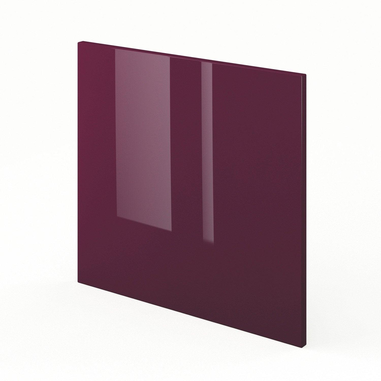 Porte pour lave vaisselle de cuisine violet rio x h for Porte 60 x 30