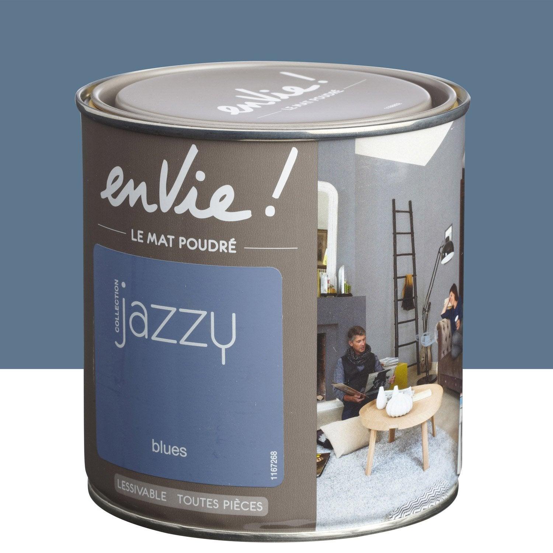 Peinture blues luxens envie collection jazzy 0 5 l leroy - Decapant peinture leroy merlin ...