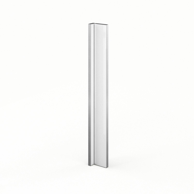 finition d 39 angle de cuisine blanc abang everest l15 x h70 cm leroy merlin. Black Bedroom Furniture Sets. Home Design Ideas