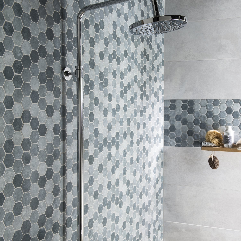 La mosa que r veille votre salle de bains - Leroy merlin carrelage mosaique ...