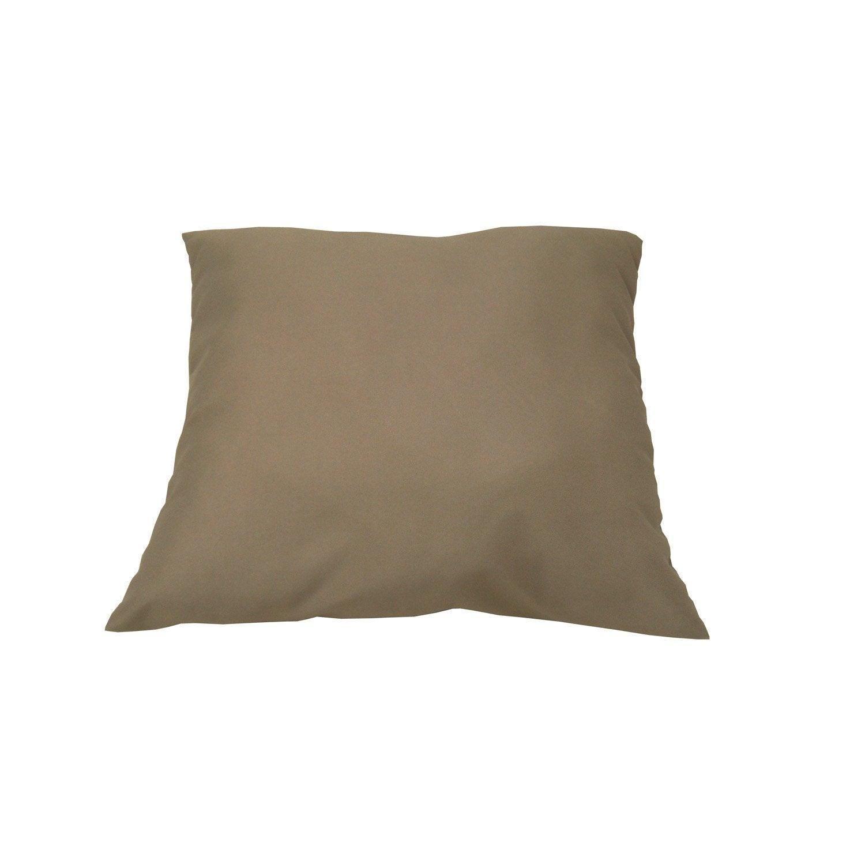 coussin de sol gris dor lola leroy merlin. Black Bedroom Furniture Sets. Home Design Ideas