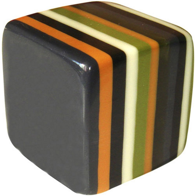 bouton de meuble cube r sine polyester poli leroy merlin. Black Bedroom Furniture Sets. Home Design Ideas