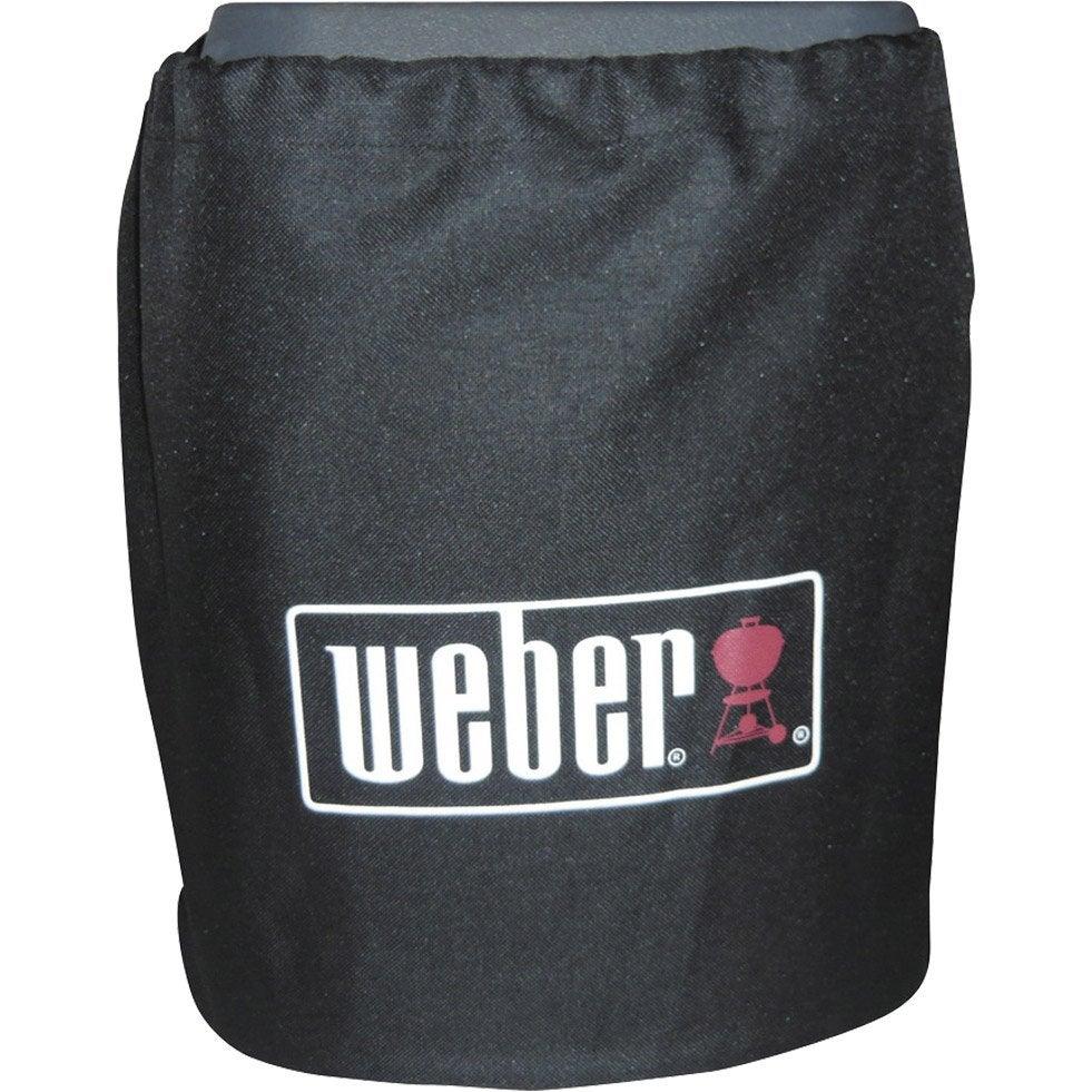 Housse de protection pour bouteille de gaz weber leroy for Housse barbecue leroy merlin