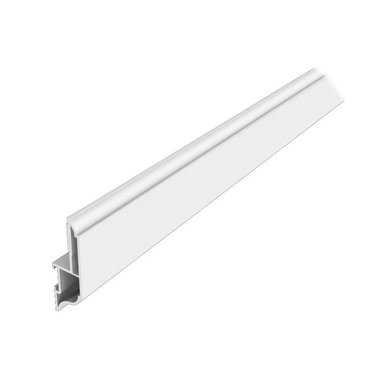 Moulure d 39 habillage fen tre 60x19 mm longueur 3 m for Moulure pvc fenetre