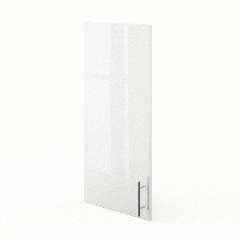 porte de cuisine blanc f40 92 rio l40 x h92 cm leroy merlin. Black Bedroom Furniture Sets. Home Design Ideas