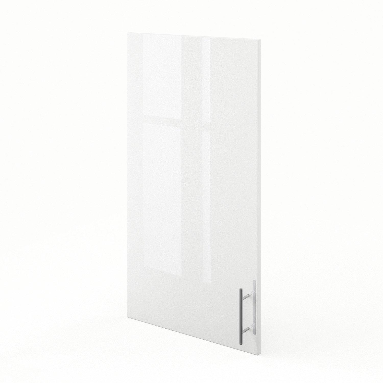 porte de cuisine blanc f50 92 rio l50 x h92 cm leroy merlin. Black Bedroom Furniture Sets. Home Design Ideas