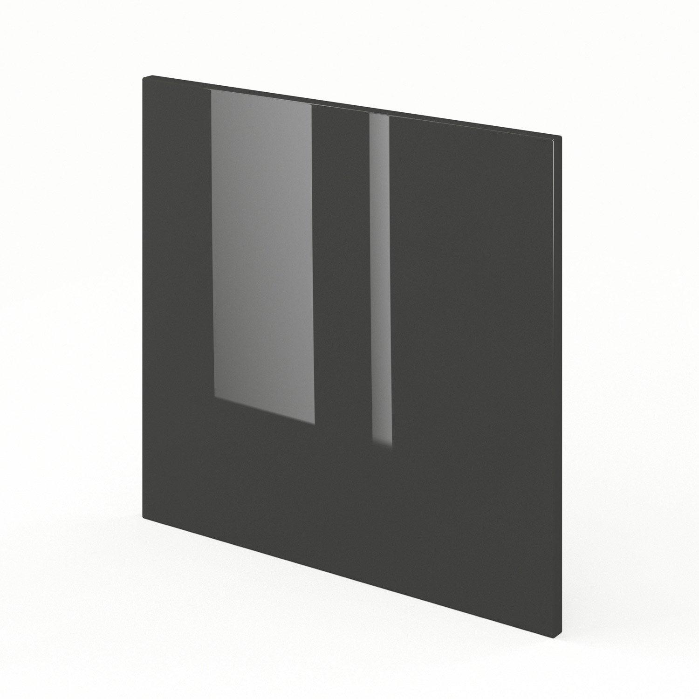 porte pour lave vaisselle int grable de cuisine gris fdsh60 rio l60 x h55 cm leroy merlin. Black Bedroom Furniture Sets. Home Design Ideas