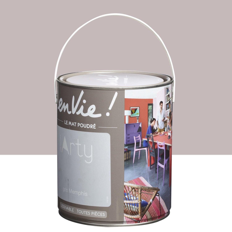 Peinture Gris Memphis Luxens Envie Collection Arty 2 5 L