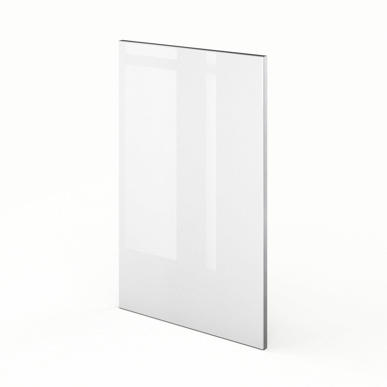 porte de cuisine blanc f45 everest l45 x h70 cm leroy merlin. Black Bedroom Furniture Sets. Home Design Ideas