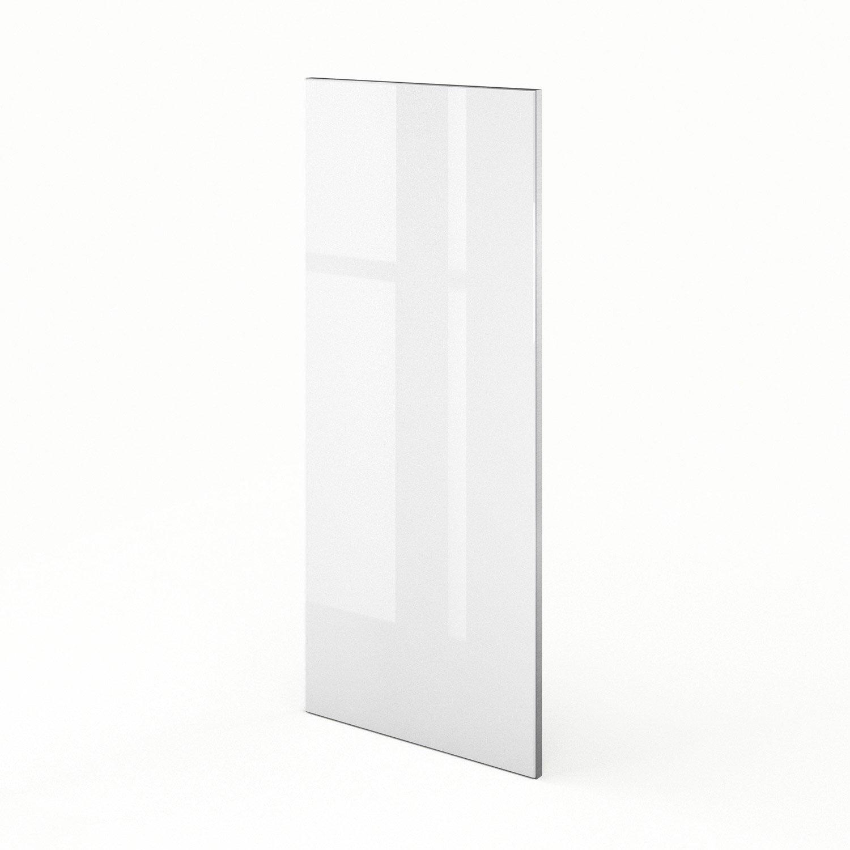 porte de cuisine blanc f40 92 everest l40 x h92 cm leroy merlin. Black Bedroom Furniture Sets. Home Design Ideas
