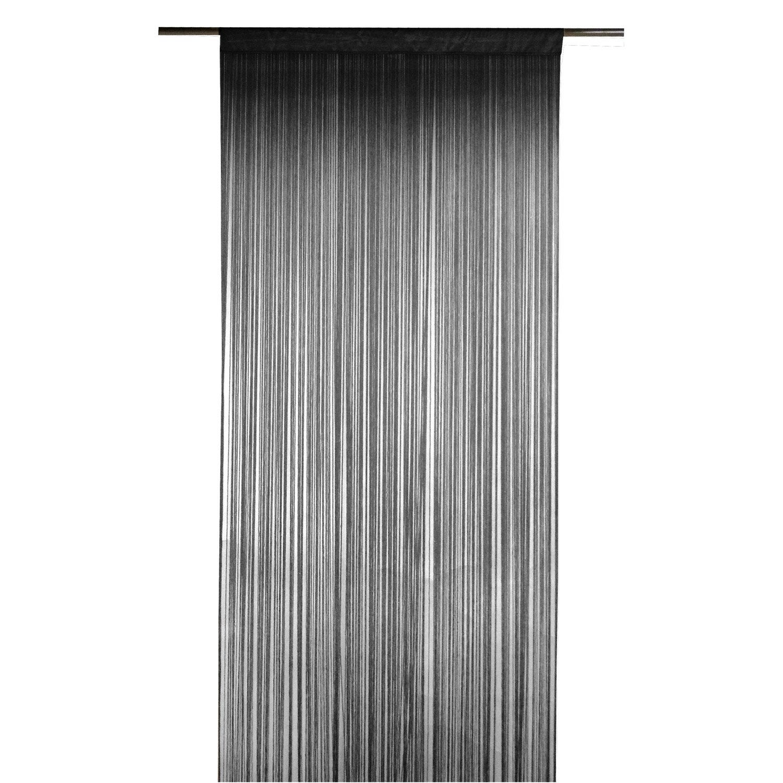rideau spaghetti noir x cm inspire leroy. Black Bedroom Furniture Sets. Home Design Ideas