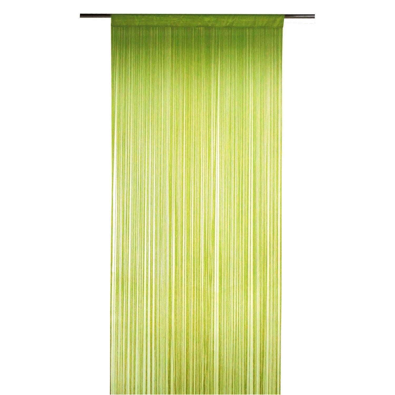 rideau tamisant spaghetti vert x cm inspire leroy merlin. Black Bedroom Furniture Sets. Home Design Ideas