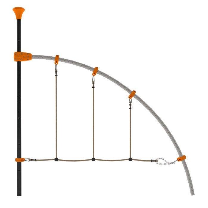 corde lisse en pvc trigano leroy merlin. Black Bedroom Furniture Sets. Home Design Ideas