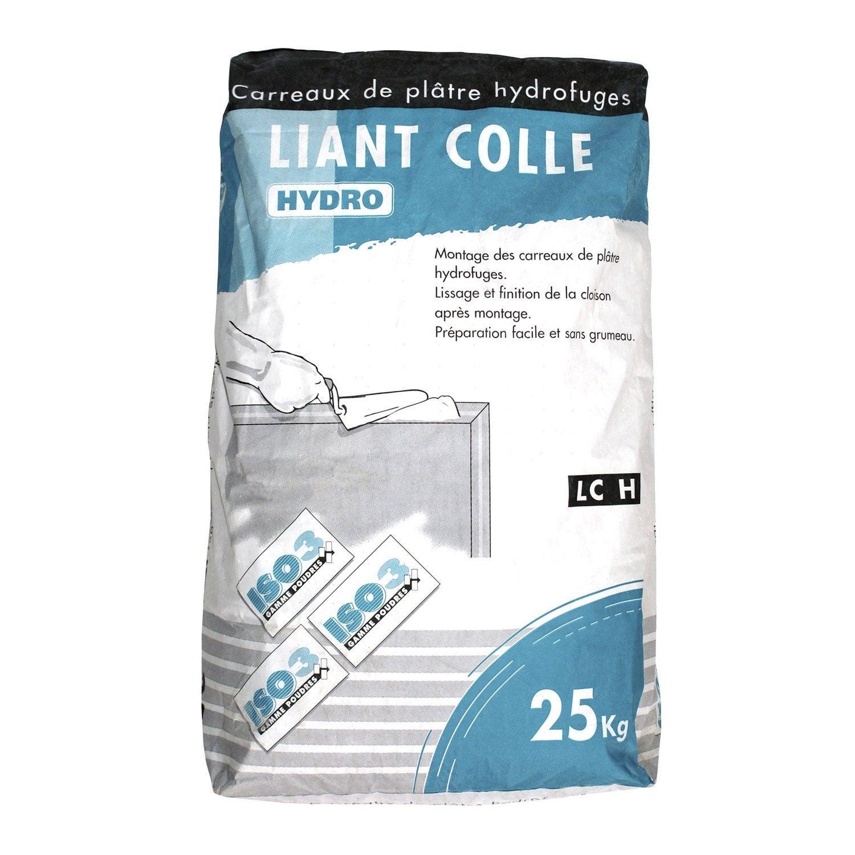 Colle pour carreaux de pl tre hydro iso3 25 kg leroy merlin - Colle pour marbre leroy merlin ...