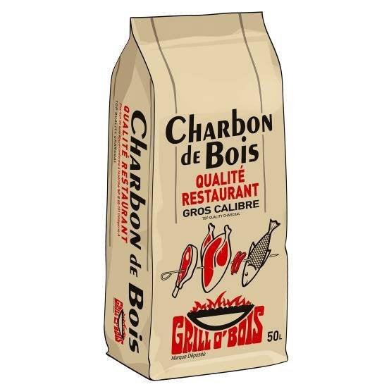 Haie En Bois Leroy Merlin : Charbon de bois solide GRILLO'BOIS, 50 L Leroy Merlin
