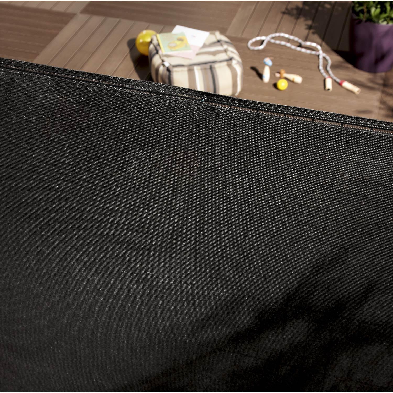 Brise vue sans attache h 100 x l 500 cm leroy merlin - Brise vue noir leroy merlin ...