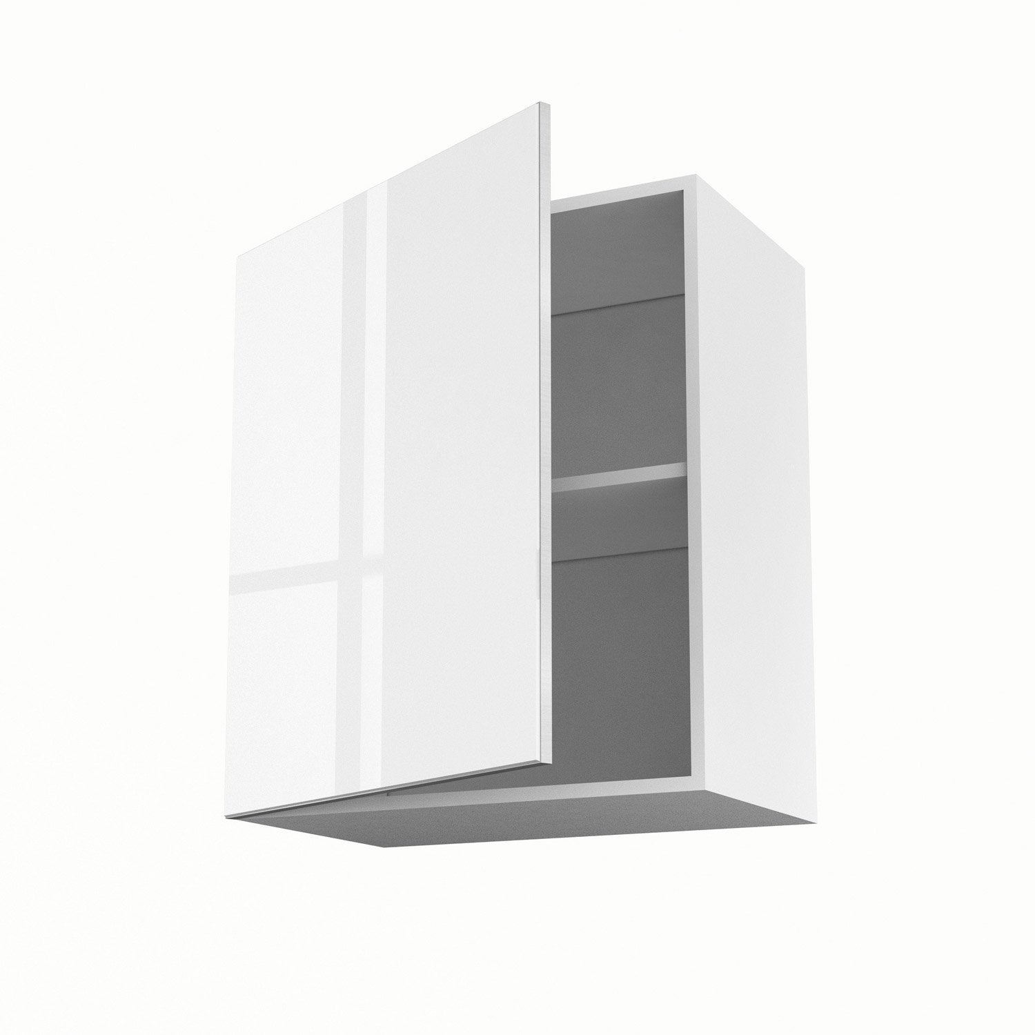 Meuble de cuisine haut blanc 1 porte everest x x for Ikea porte 60 x 70