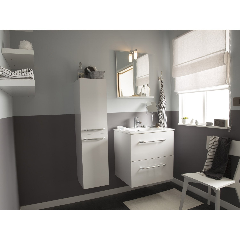 Meuble salle de bain en bois leroy merlin good meuble for Meuble sous vasque bois leroy merlin