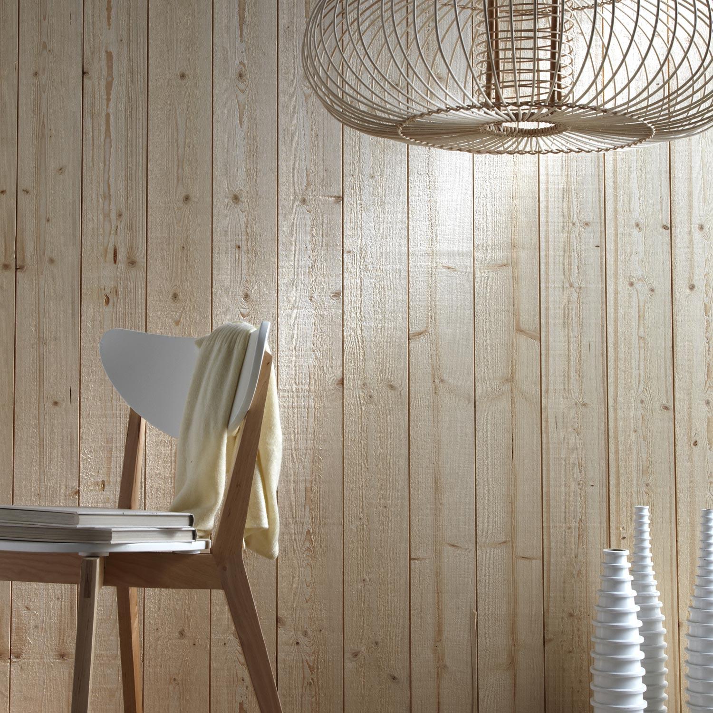 lambris bois pic a brut de sciage petits noeuds l 205 x. Black Bedroom Furniture Sets. Home Design Ideas