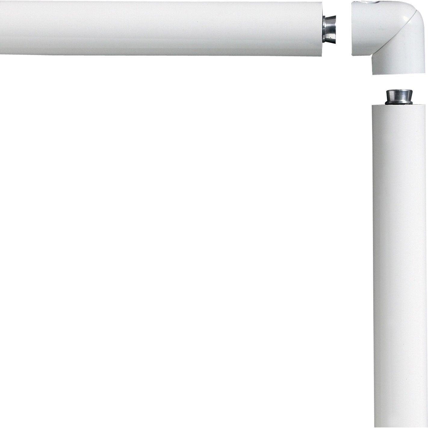 Main courante aluminium blanc obapi 2 m leroy merlin - Platte aluminium leroy merlin ...