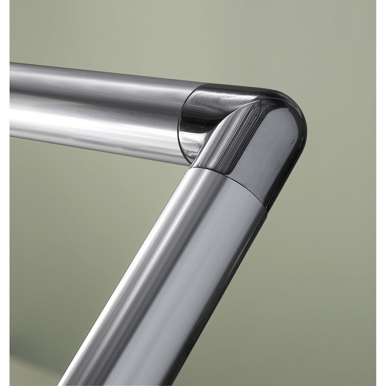 Articulation en aluminium poli pour main courante obapi for Main courante escalier exterieur aluminium