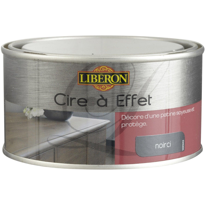 Cire à effets à leau LIBERON, noirci, aspect ciré, 025L